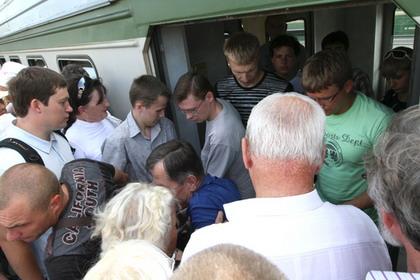 Поезда Казанского направления МЖД следуют с опозданием сегодня утром.