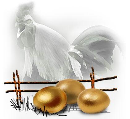 Золотые яйца суверенного петуха